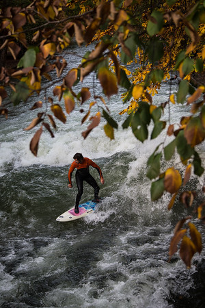City Surfing in Munich