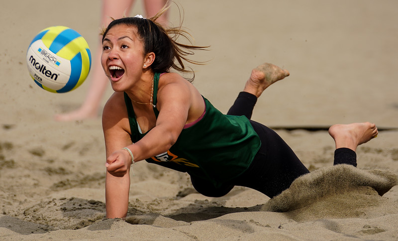 3/19/19: USF BVB  at Ocean Beach in San Francisco, CA.  Image by Chris M. Leung for USF Dons Athletics