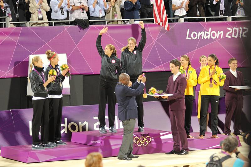 Gold Medal Ceremony London 2012