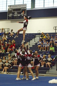 MHS Cheer at 2012 NE Regionals