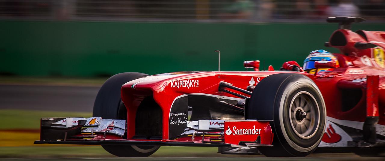 Fernando Alonso - Australian F1 Grand Prix