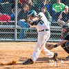 March 1, 2014 - (Last play of the game, bottom of the 7th, tied at 6 all) Calvary Knights varsity baseball vs. New Creation, Calvary Christian School, Columbus, GA.  Photo  by John David Helms.