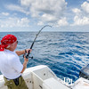 September 3, 2012 - Deep sea fishing in the Gulf of Mexico.  Photo by John D. Helms.