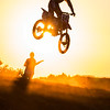 Motocross Sunset