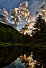 The lower pond at Mount Mansfield Trout Club - Stowe, VT