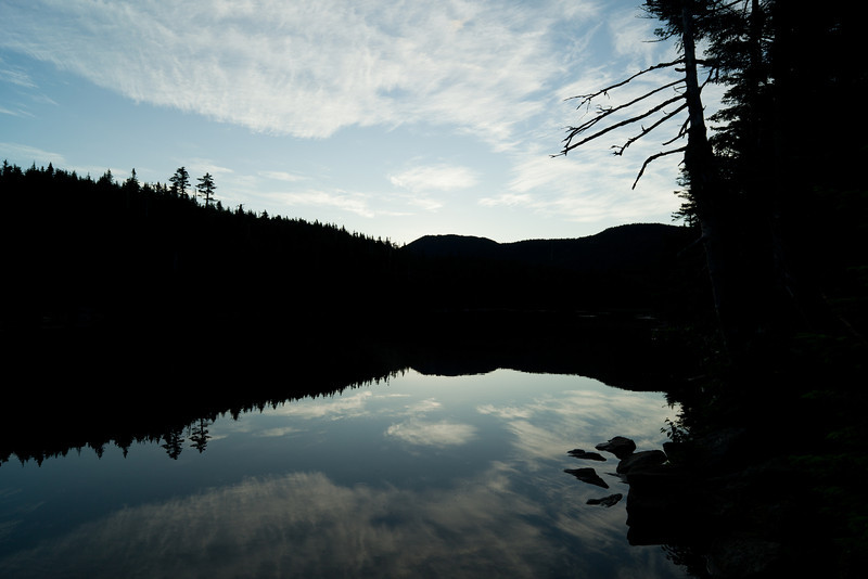 Dawn at Sterling Pond - Stowe, VT