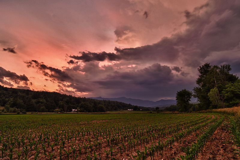 Storm over Mansfield - Stowe, VT