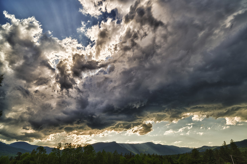 Rays over Mansfield - Stowe, VT