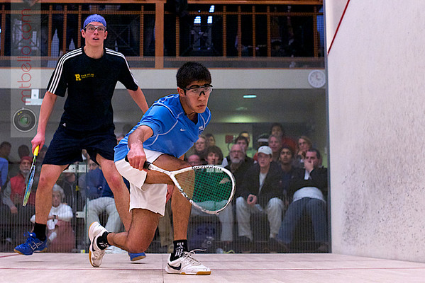 2012 College Squash Individual Championships: Ramit Tandon (Columbia) and Andres Duany (Rochester)<br /> <br /> Published on pages 24 - 25 of Squash Magazine (October 2012)