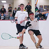 2012 Men's College Squash Association National Team Championships: Charles Lebovitz (Brown) and Nicholas Greaves-Tunnell (Williams)<br /> <br /> Published on page 27 of Squash Magazine (October 2012)
