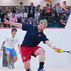 2012 Men's College Squash Association National Team Championships: Danny Greenberg (Penn) and Tony Zou (Columbia)<br /> <br /> Published on page 36 of Squash Magazine (March 2012)