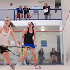 2013 Women's National Team Championships: Sara Wlodarczyk (Bowdoin) and Mikaela Johnson (Colby)<br /> <br /> Published on page 47 of Squash Magazine (March/April 2013)