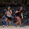 2013 Women's National Team Championships: Amanda Sobhy (Harvard) and Kanzy El Defrawy (Trinity)<br /> <br /> Published on page 44 of Squash Magazine (March/April 2013)