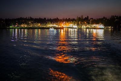 Lichter am Rhein in Konstanz