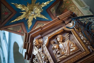 Kanzel im Konstanzer Münster