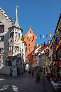 Meersburg, Bodenseekreis, Tübingen, Baden-Württemberg, Deutschland