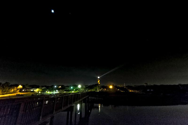Moon Elevation Eclipse 2014