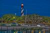 St. Augustine Lighthouse lit by Sunrise