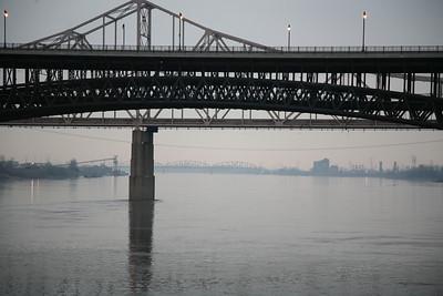 Eads Bridge over the Mississippi