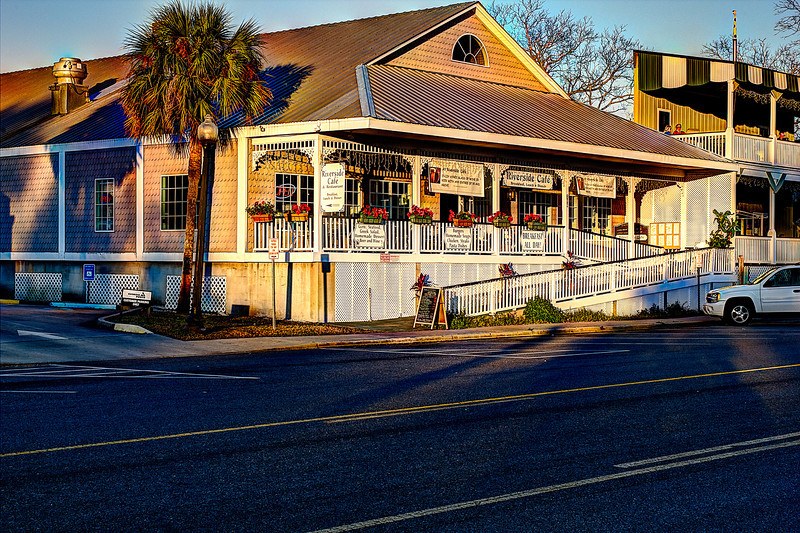 Riverside Cafe St.Mary's Ga