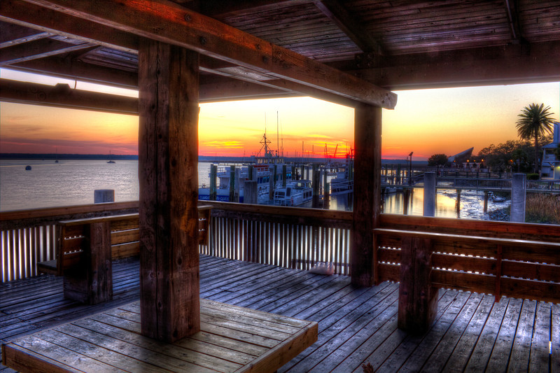 Cumberland Queen St Mary's Ga. Sunset