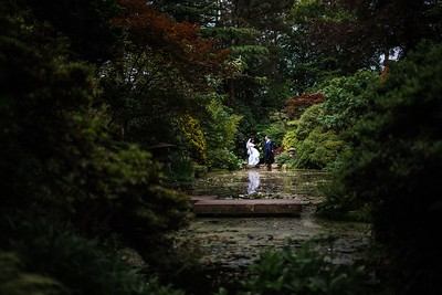 Japanese Gardens at The Italian Villa Bournemouth