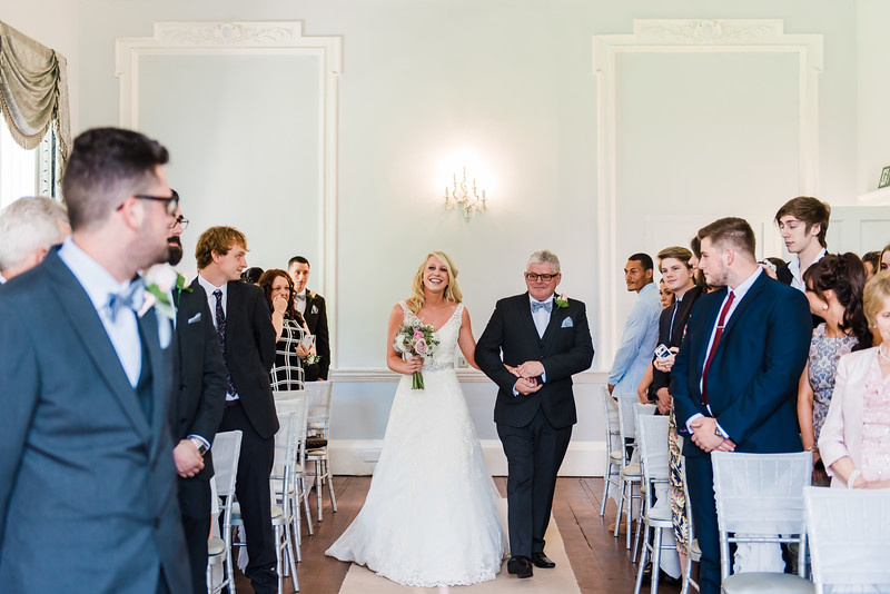 Wedding Ceremony at Somerford Hall