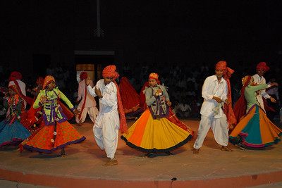 Dance and cultural performances at Rajasthan Diwas. Every year in the month of March, Rajasthan celebrates its foundation day. Rajasthan Diwas is the day of the unification of erstwhile princely states and the state of Rajasthan. Organized by the Rajasthan Tourism Department, the festival features traditional and rural sports like kho-kho, camel cart races and elephant polo. 'Run for Rajasthan' is the highlight of the Rajashtan Diwas in which 32 torches are lit and brought to Jaipur by runners. As part of the festivities, local bazaars of Jaipur remain open late into the night and it offer interesting local textiles and handicrafts.
