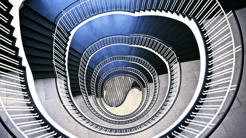 From the Series: Staircase Abstractions