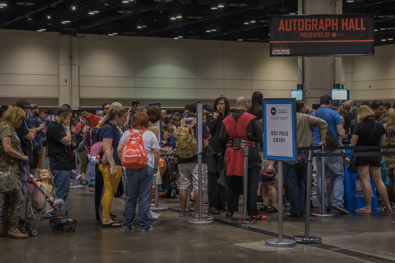 Autograph Hall at Star Wars Celebration Orlando