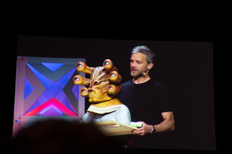 Matt Denton explained how the team created Six-Eyes, a character(?) in Solo; A Star Wars Movie