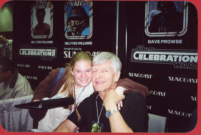 Halley and David Prowse, our earliest convention, Celebration II in Indianapolis, IN - 2002