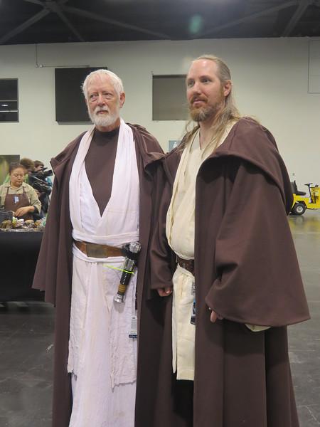 Obi-Wan Kenobi and Qui-Gon Jinn