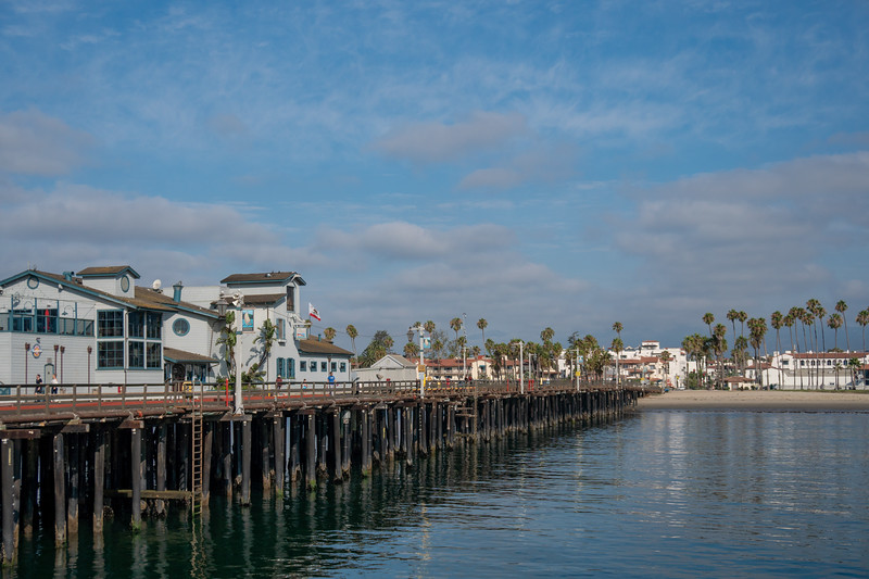 Stearns Wharf and Santa Barbara