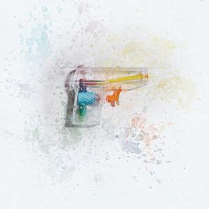 Squirt Gun Painted