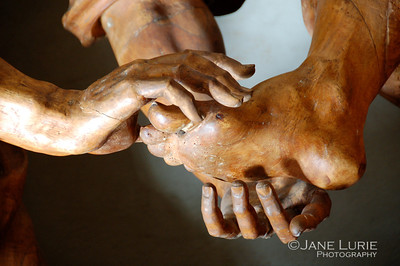 Foot Washing Detail