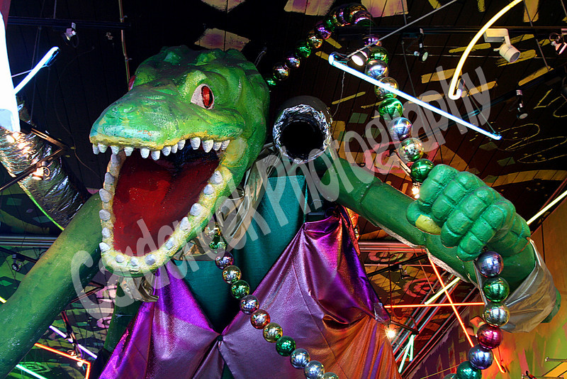 Alligator and Beads
