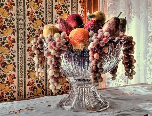Retro Fruit Bowl