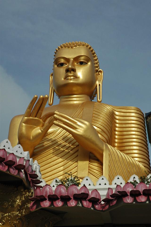 Golden Temple, Dambulla, Sri Lanka, July 2004
