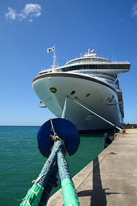 IMG#4165 Princess Cruise Ship docked in Grenada