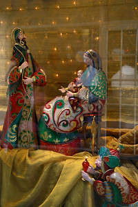 IMG#4183 Christmas Display Window...Aruba 2008