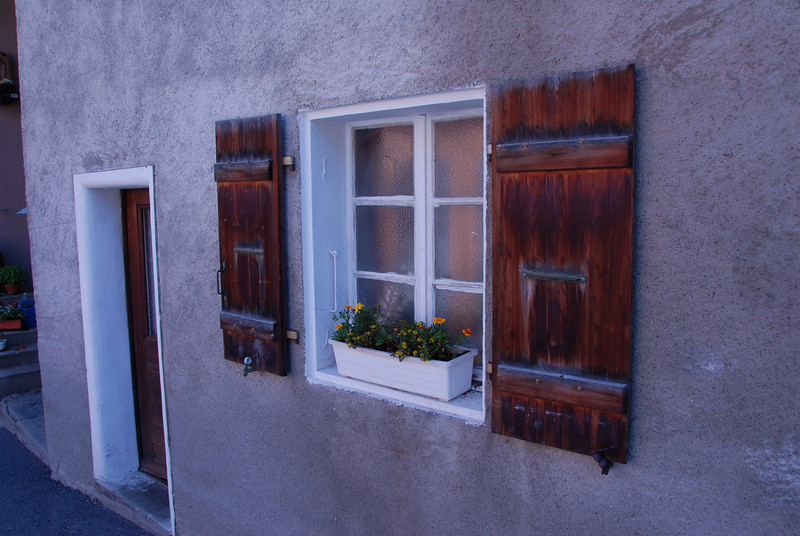 Weathered Window. Praz de Fort, Switzerland