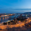 Vltava during Blue Hour