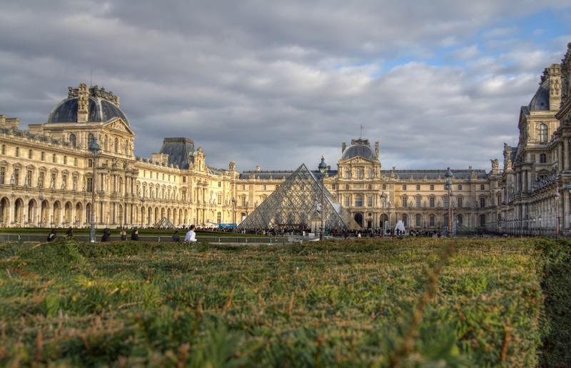 Louvre From the Park<br /> Louvre From the Park
