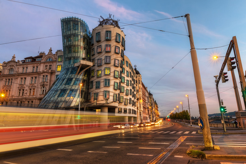 "The Dancing House<br /> Photo by Roman Betik from the blog <a href=""http://www.StillGlimmers.com/"">http://www.StillGlimmers.com/</a>"