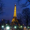 Eiffel Tower At Night<br /> Eiffel Tower At Night