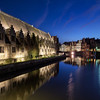 """Evening River in Ghent<br /> Photo by Roman Betik from the blog <a href=""""http://www.StillGlimmers.com/"""">http://www.StillGlimmers.com/</a>"""