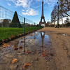 "The Eiffel Tower Reflection<br /> Photo by Roman Betik from the blog <a href=""http://www.StillGlimmers.com/"">http://www.StillGlimmers.com/</a>"