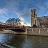 """Bridge to Notre Dame<br /> Photo by Roman Betik from the blog <a href=""""http://www.StillGlimmers.com/"""">http://www.StillGlimmers.com/</a>"""