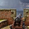 Cannon at Fort George<br /> Cannon at Fort George